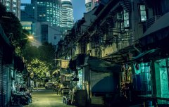 Shanghai Night #8 by Nicolas Jandrain