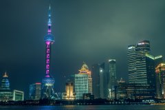 Shanghai Night #9 by Nicolas Jandrain