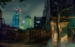 Shanghai Night #14 by Nicolas Jandrain
