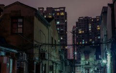 Shanghai Night #17 by Nicolas Jandrain