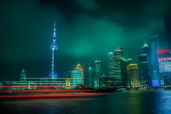 Shanghai Night #18 by Nicolas Jandrain